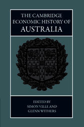 The Cambridge Economic History of Australia by Simon Ville