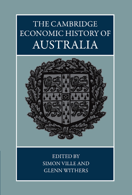 The Cambridge Economic History of Australia
