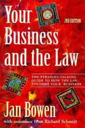Your Business and the Law by Jan Bowen