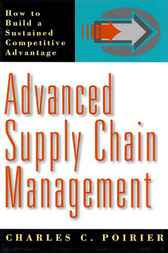 Advanced Supply Chain Management by Charles C. Poirier