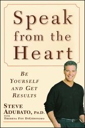 Speak from the Heart by Steve Adubato