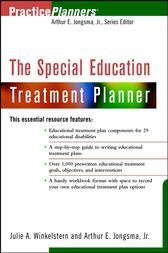 The Special Education Treatment Planner by Julie A. Winkelstern