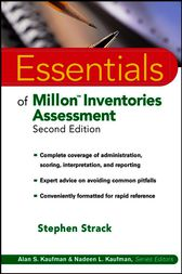 Essentials of Millon Inventories Assessment by Stephen Strack