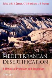 Mediterranean Desertification by N. A. Geeson