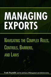 Managing Exports by Frank Reynolds