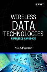 Wireless Data Technologies by Vern A. Dubendorf