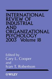 International Review of Industrial and Organizational Psychology 2003 by Cary L. Cooper