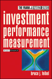 Investment Performance Measurement by Bruce J. Feibel
