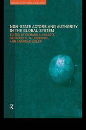Non-State Actors and Authority in the Global System by Andreas Bieler