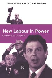 New Labour in Power by Tim Bale