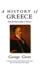 A History of Greece by George Grote