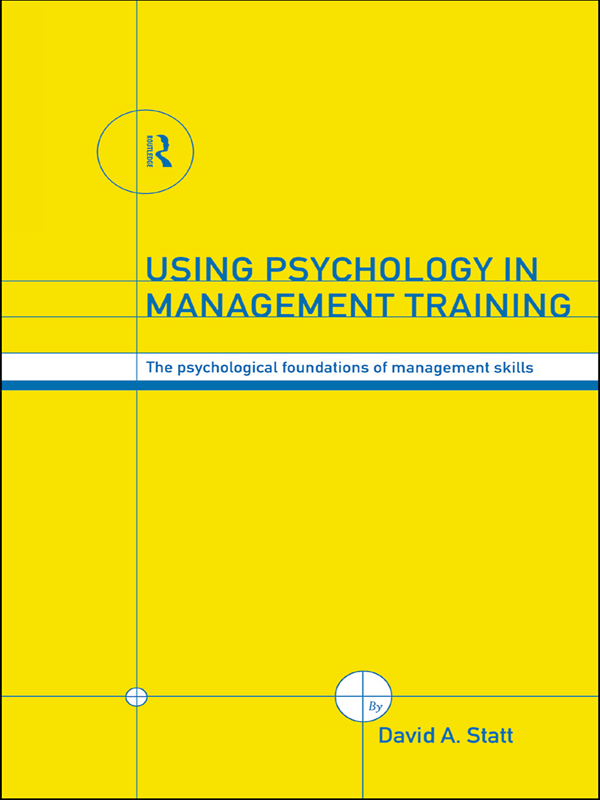 Download Ebook Using Psychology in Management Training by David A. Statt Pdf