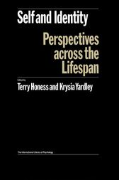 Self and Identity by Terry Honess