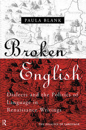 Broken English by Paula Blank