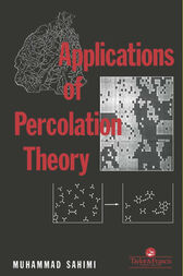 Applications Of Percolation Theory by M Sahini