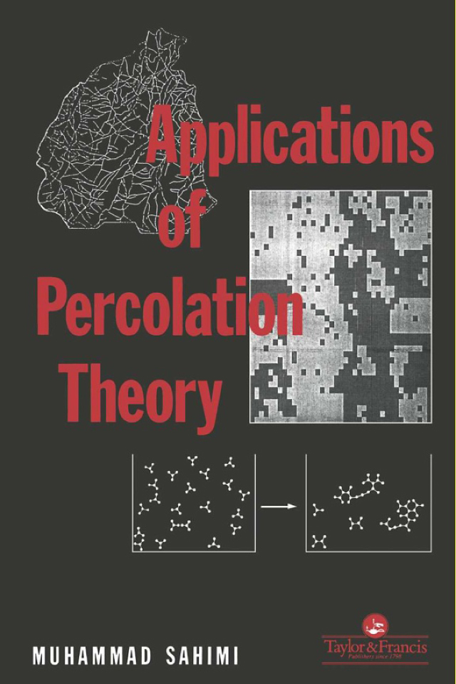 Download Ebook Applications Of Percolation Theory by M Sahini Pdf