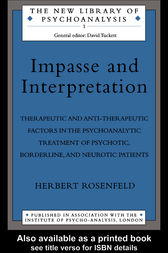 Impasse and Interpretation by Herbert Rosenfeld