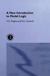 A New Introduction to Modal Logic by M.J. Cresswell