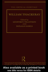 William Thackeray by Professor Donald Hawes