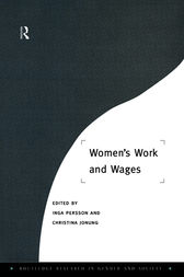 Women's Work and Wages by Christina Jonung