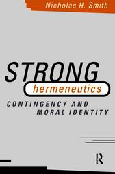 Strong Hermeneutics by Nicholas H. Smith