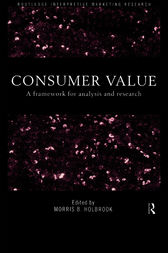 Consumer Value by Morris Holbrook