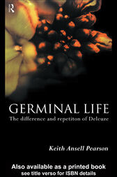 Germinal Life by Keith Ansell-Pearson