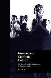 Government Confronts Culture by Bruce Fuller