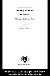 Building a Culture of Respect by Noreen Tehrani