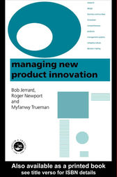 Managing New Product Innovation by B. Jerrard