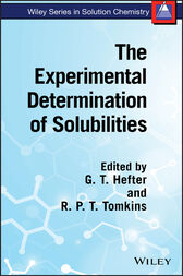 The Experimental Determination of Solubilities by G. T. Hefter