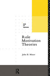 Role Motivation Theories by John B. Miner