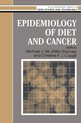 Epidemiology Of Diet And Cancer by M.J. Hill