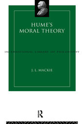 Hume's Moral Theory by J.L. Mackie