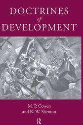 Doctrines Of Development by M. P. Cowen