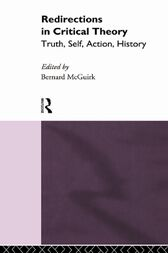 Redirections in Critical Theory by Bernard McGuirk