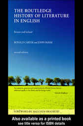 Routledge History of Literature in English by Ronald Carter
