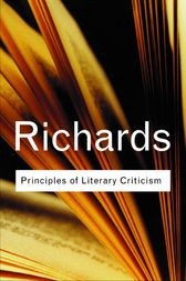Principles of Literary Criticism by I.A. Richards