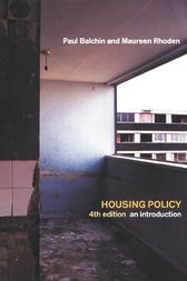 Housing Policy In The United States by Jean Conway