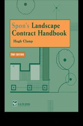 Spon's Landscape Contract Handbook by Hugh Clamp