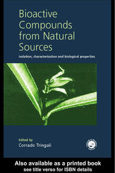 Bioactive Compounds from Natural Sources by Corrado Tringali