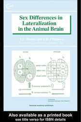 Sex Differences in Lateralization in the Animal Brain by V L Bianki