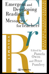 Children Learning To Read: International Concerns by Peter Pumfrey