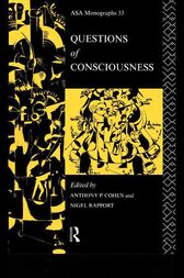 Questions of Consciousness by Anthony P. Cohen