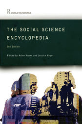 The Social Science Encyclopedia by Adam Kuper