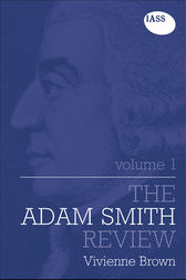 The Adam Smith Review: Volume 1 by Vivienne Brown