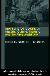 Matters of Conflict by Nicholas J. Saunders