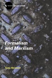 Formalism and Marxism by Tony Bennett