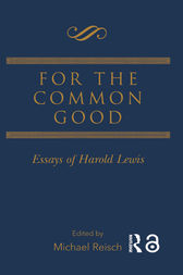 For the Common Good by Michael Reisch