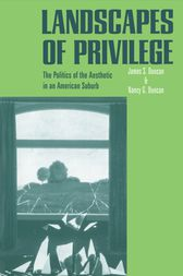 Landscapes of Privilege by Nancy Duncan